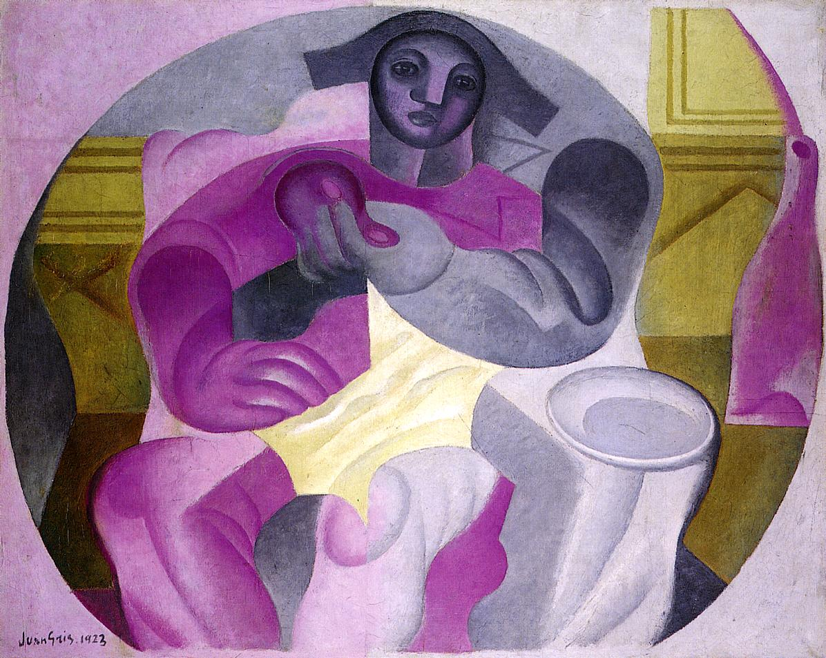 Seated Harlequin 1923 | Juan Gris | Oil Painting