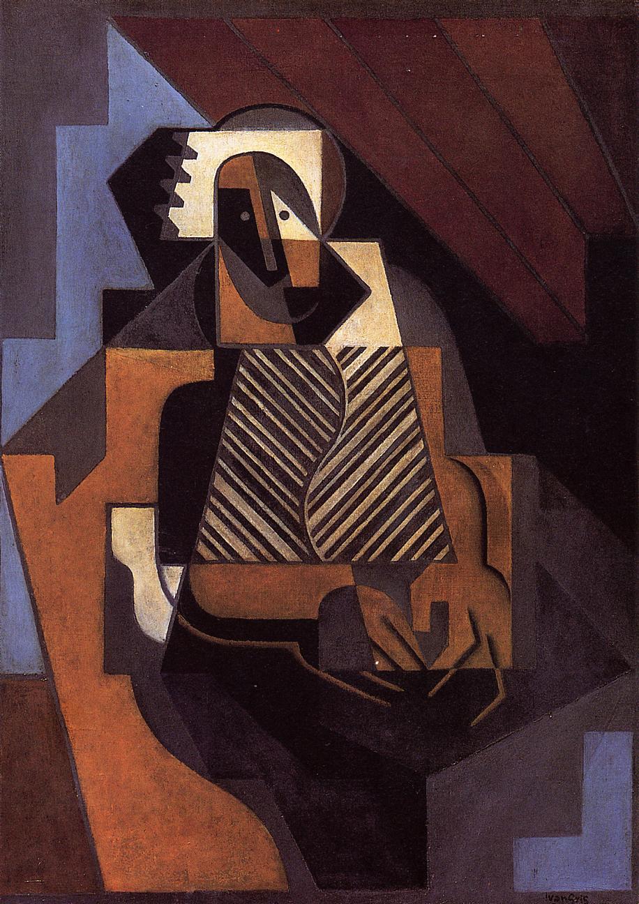 Seated Peasant Woman 1918 | Juan Gris | Oil Painting