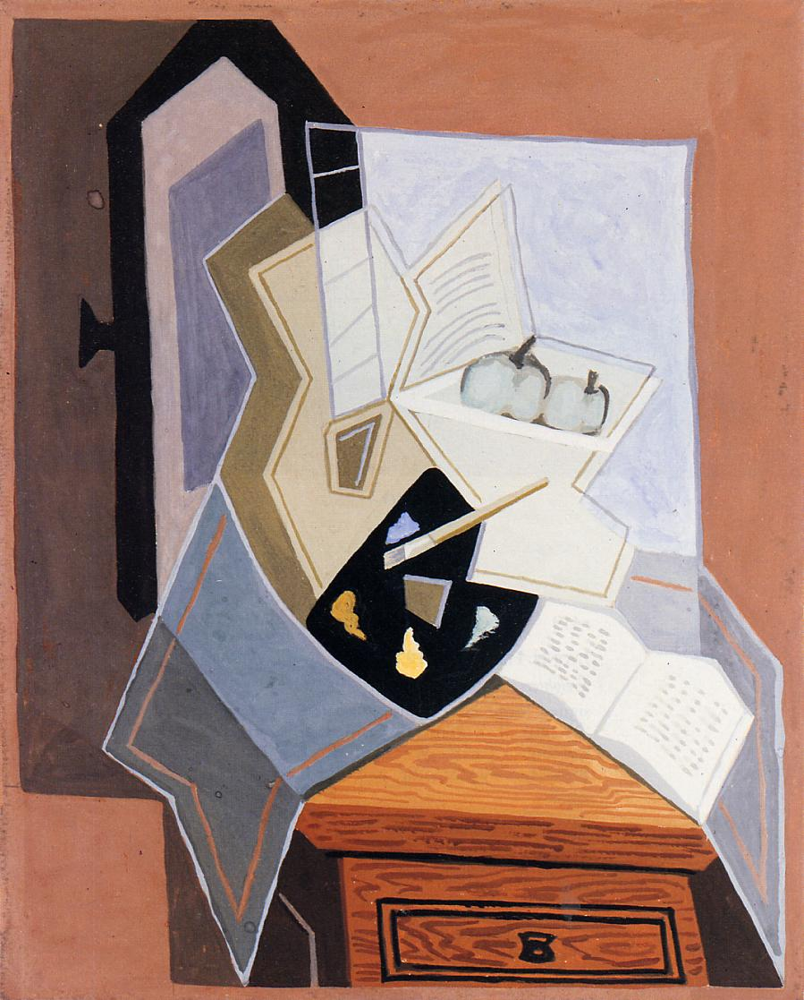 Still Life at the Open Window 1925 | Juan Gris | Oil Painting