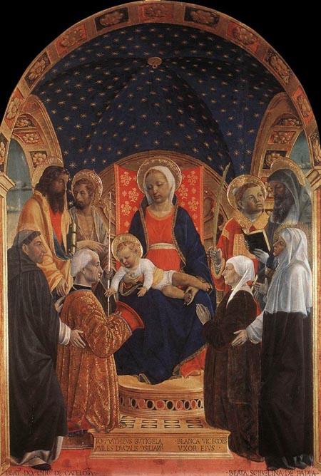 Bottigella Altarpiece 1480 1484 | Vincenzo Foppa | Oil Painting