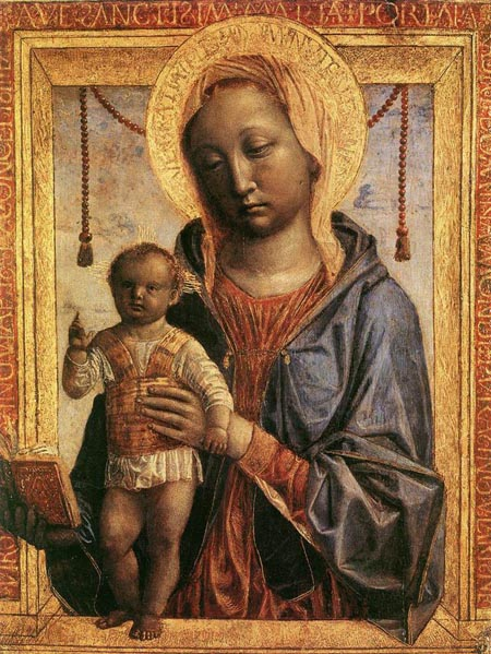 Madonna of the Book 1460 1468 | Vincenzo Foppa | Oil Painting