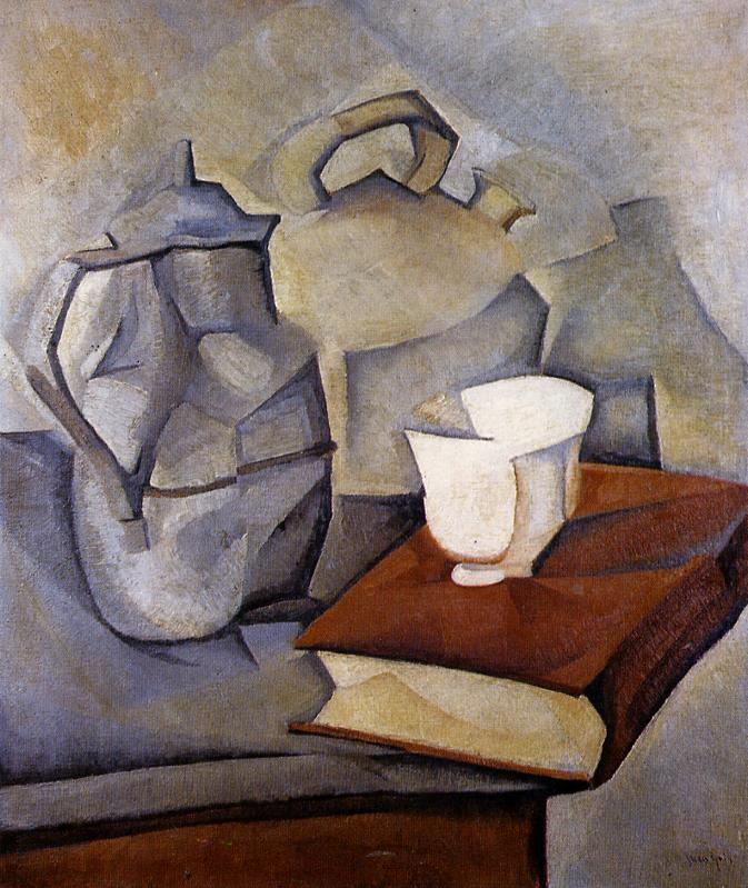 Still Life with Book 1913 | Juan Gris | Oil Painting