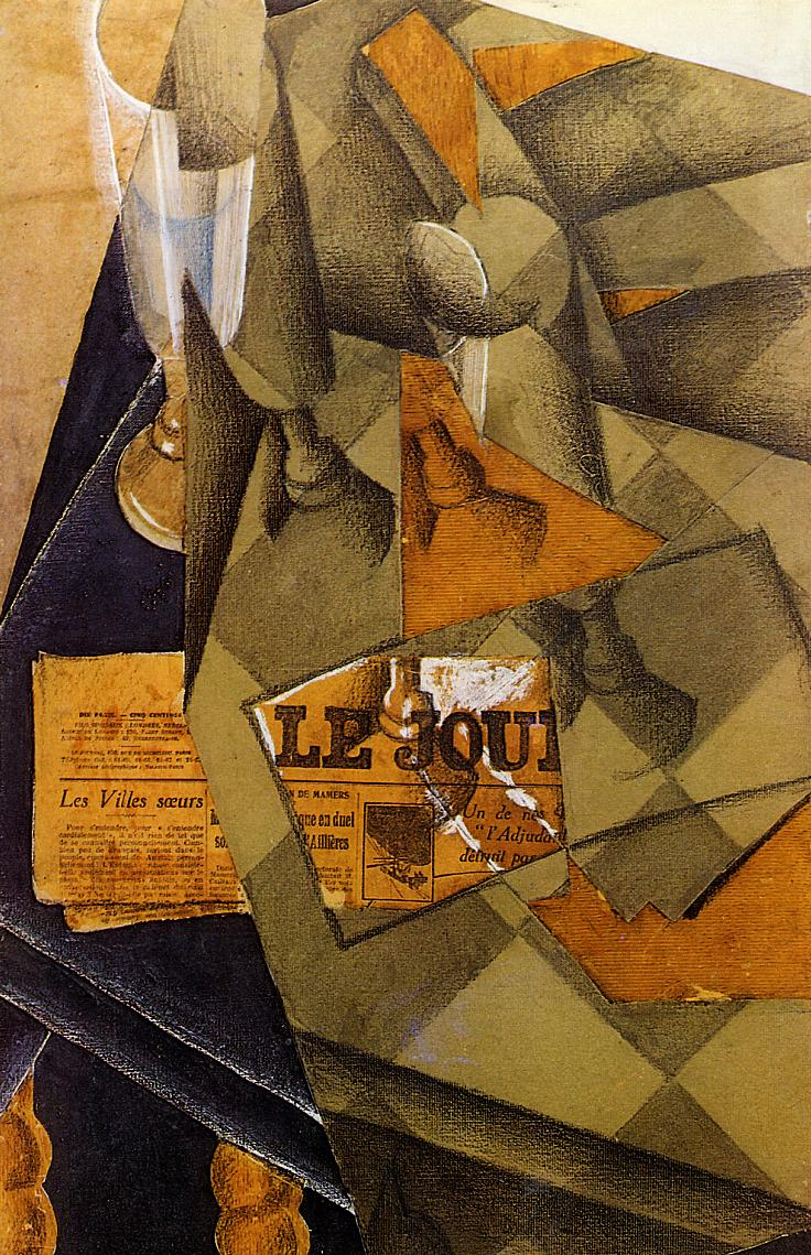 Still Life 1914 | Juan Gris | Oil Painting