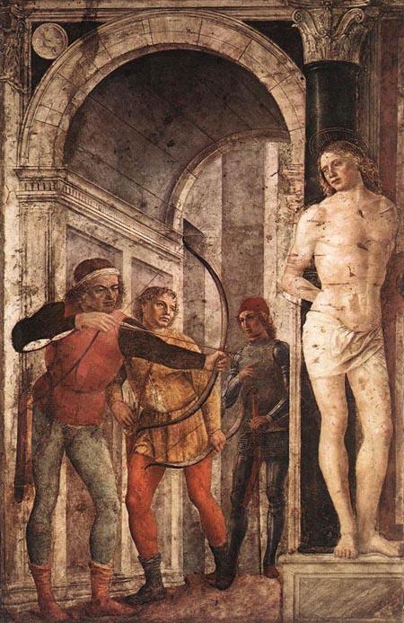 St Sebastian 1489 | Vincenzo Foppa | Oil Painting