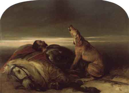 The Faithful Hound 1830 | Sir Edwin Henry Landseer | Oil Painting