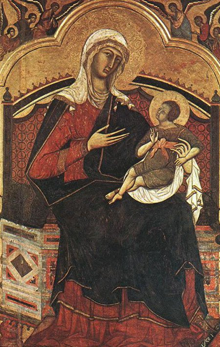 Madonna and Child 1270 | Guido Da Siena | Oil Painting