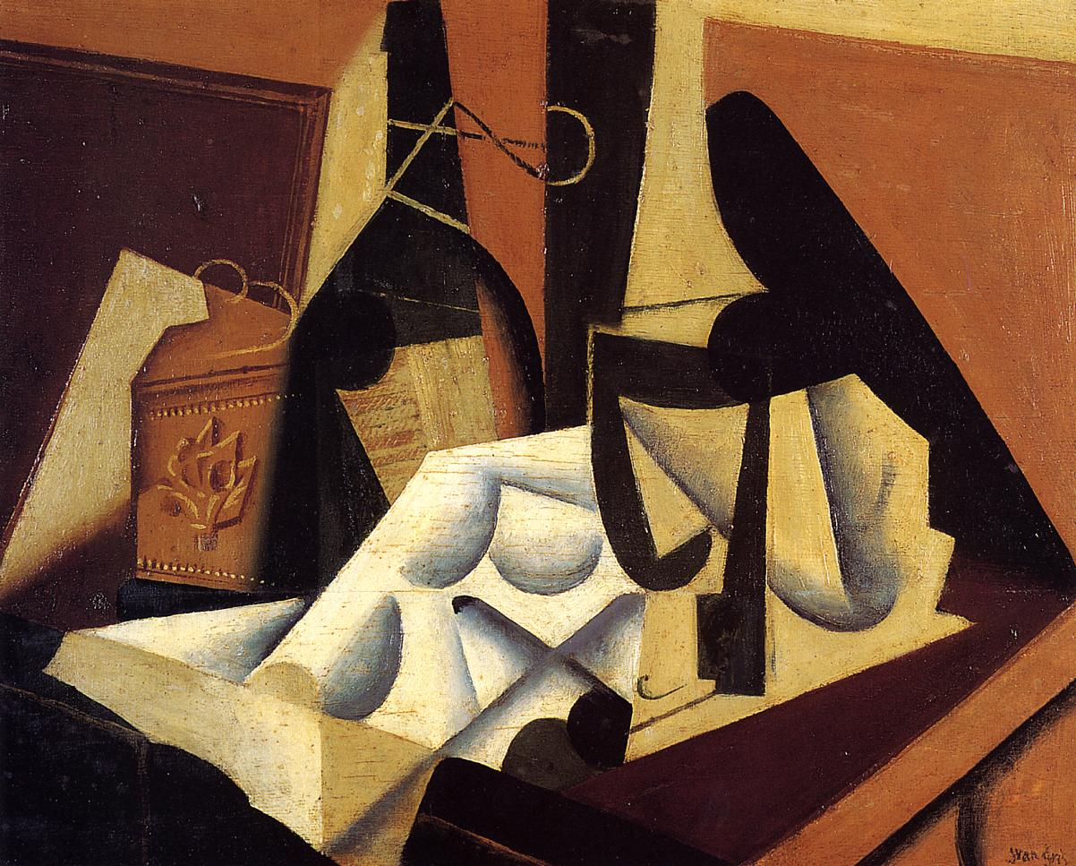 Still Life with White Tablecloth 1916 | Juan Gris | Oil Painting