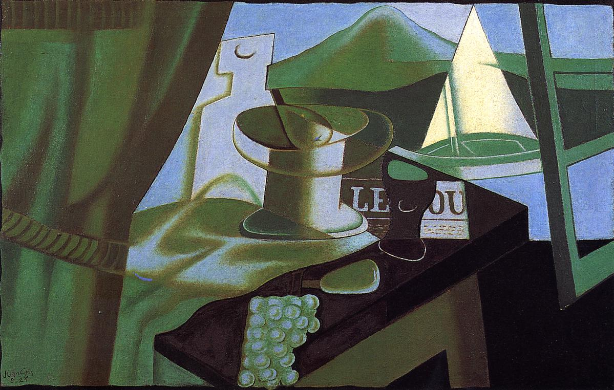 The Bay 1921   Juan Gris   Oil Painting