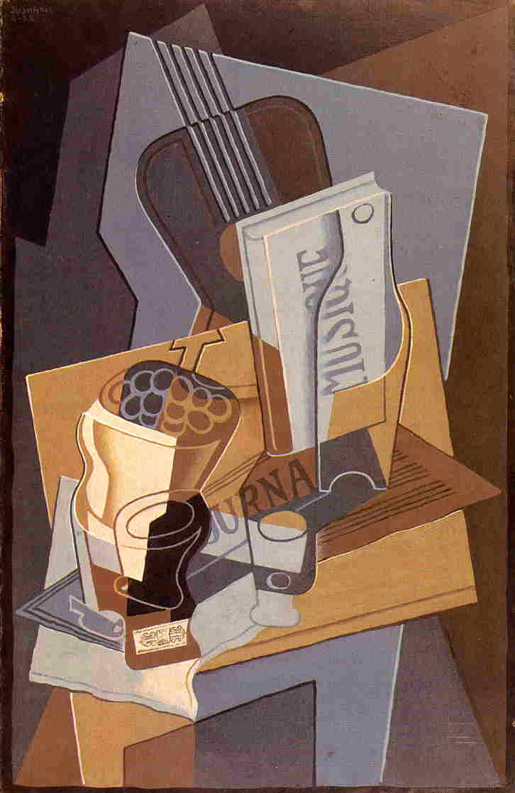 The Book of Music 1922 | Juan Gris | Oil Painting
