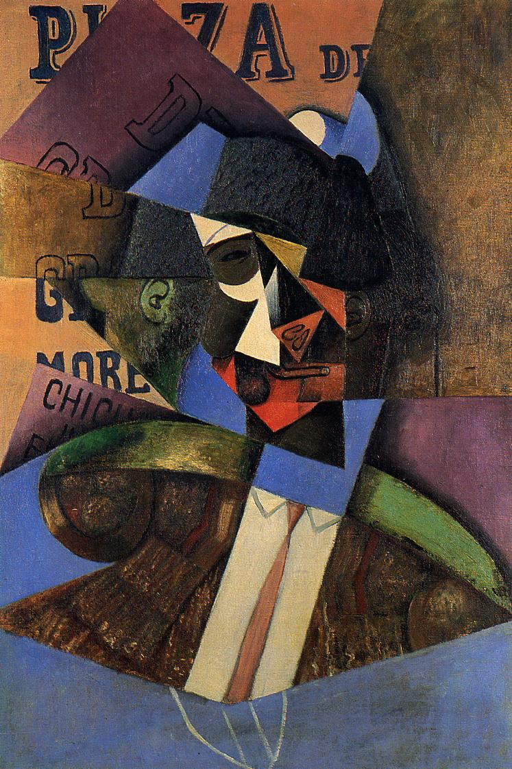 The Bull Fighter 1913 | Juan Gris | Oil Painting