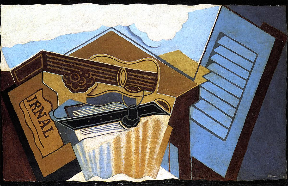 The Cloud 1921 | Juan Gris | Oil Painting