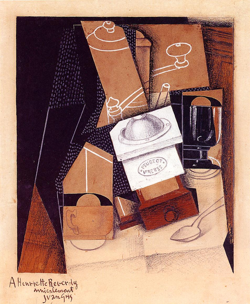The Coffee Grinder 1916 | Juan Gris | Oil Painting