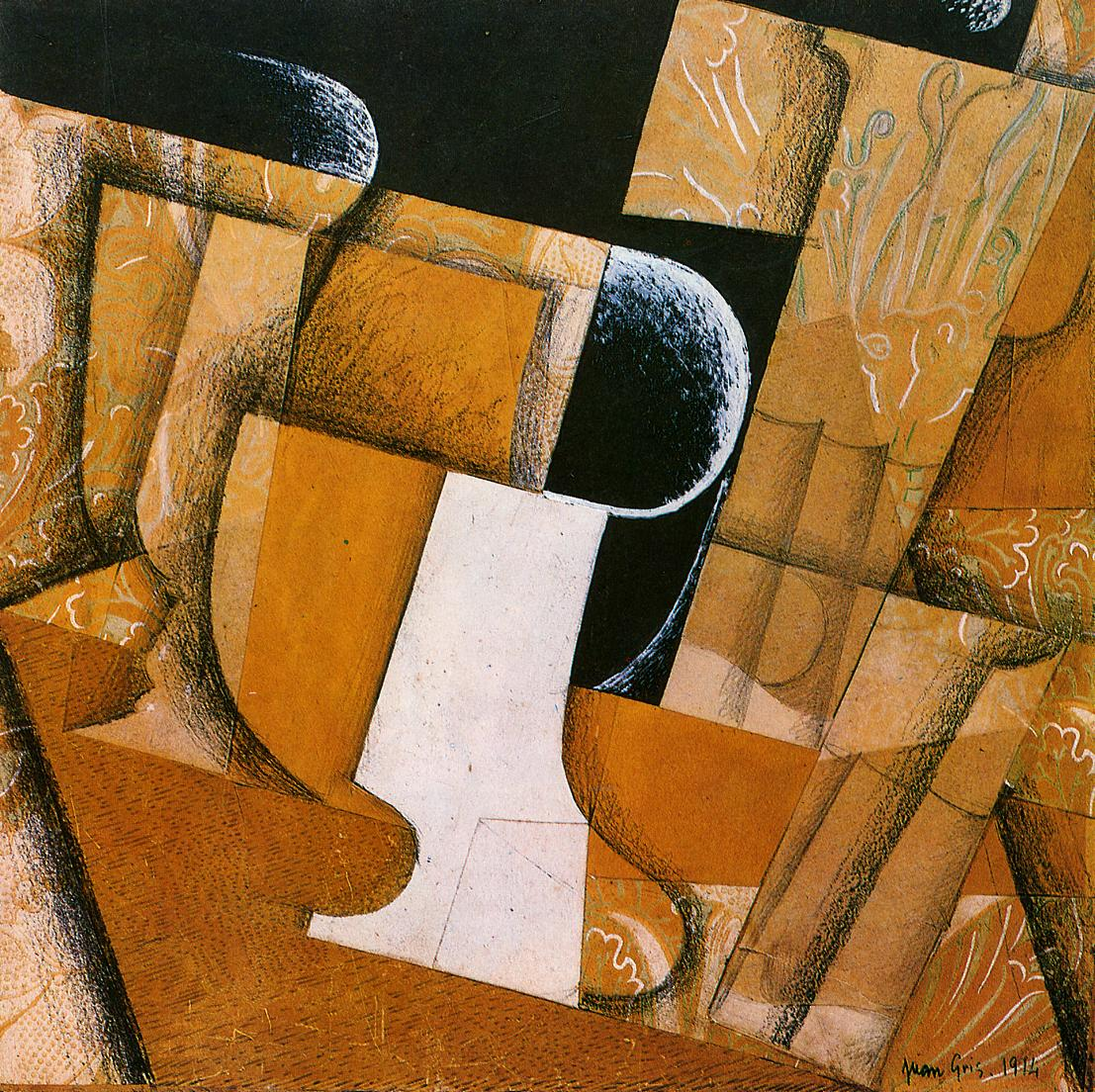 The Flower on the Table 1925-1926 | Juan Gris | Oil Painting