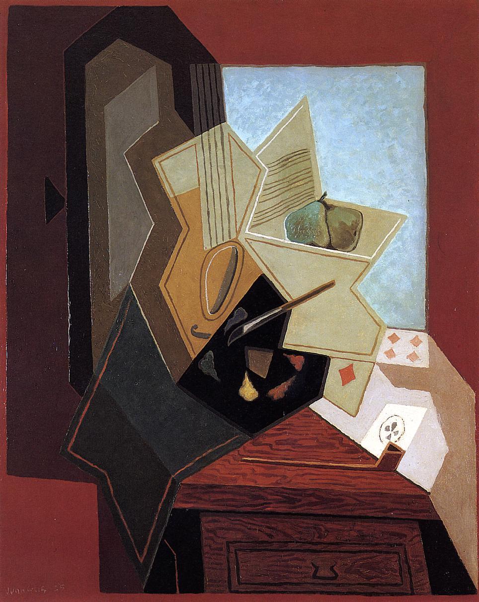 The Glass (aka The Fruit Bowl) 1914 | Juan Gris | Oil Painting