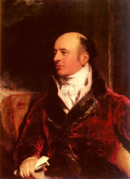 Portrait Of James Perry | Sir Thomas Lawrence | Oil Painting