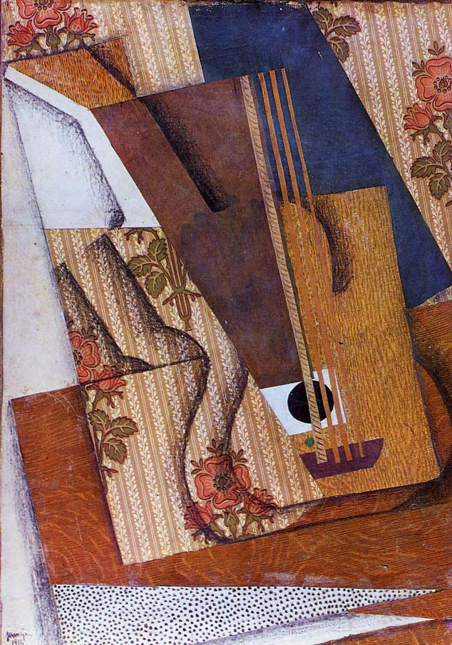 The Guitar 1914 | Juan Gris | Oil Painting