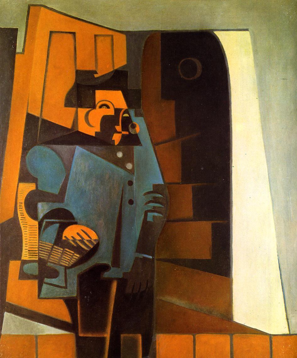 The Miller 1918 | Juan Gris | Oil Painting