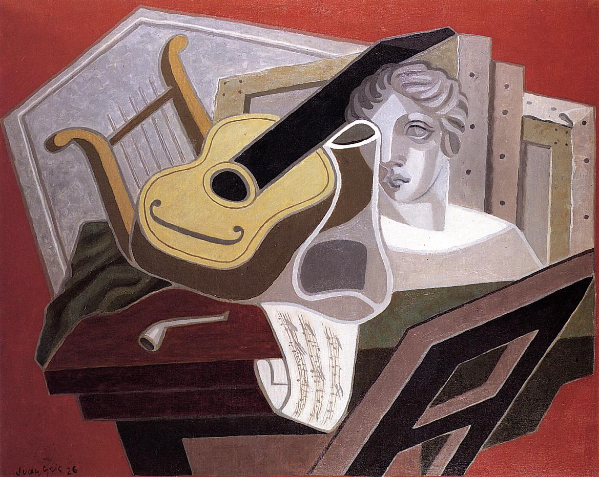 The Musician Table 1926 | Juan Gris | Oil Painting