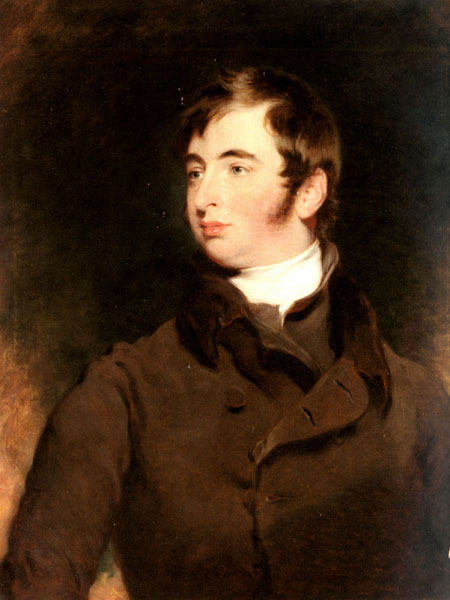 Portrait of George Charles Pratt Earl of Brecknock | Sir Thomas Lawrence | Oil Painting