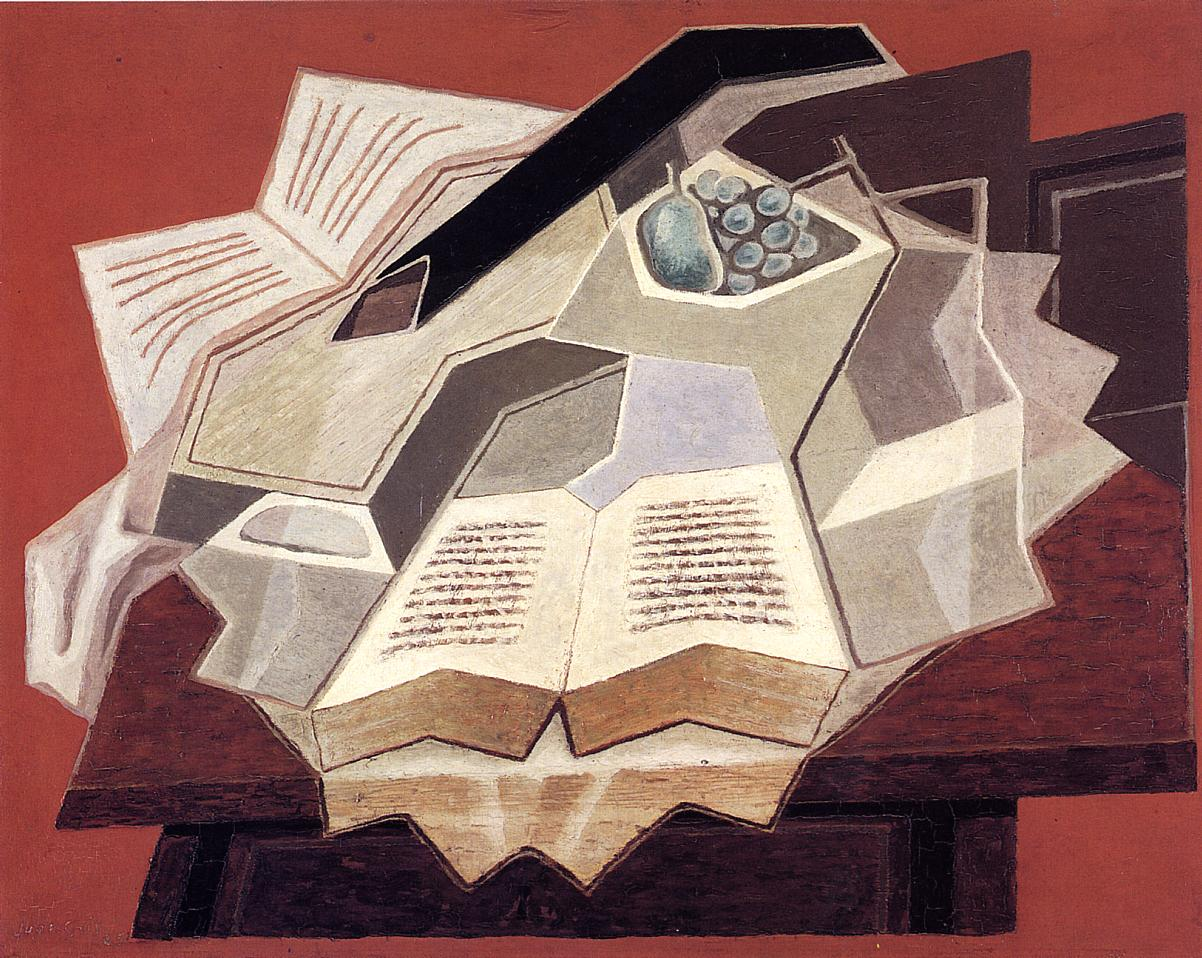 Image result for juan gris open books paintings