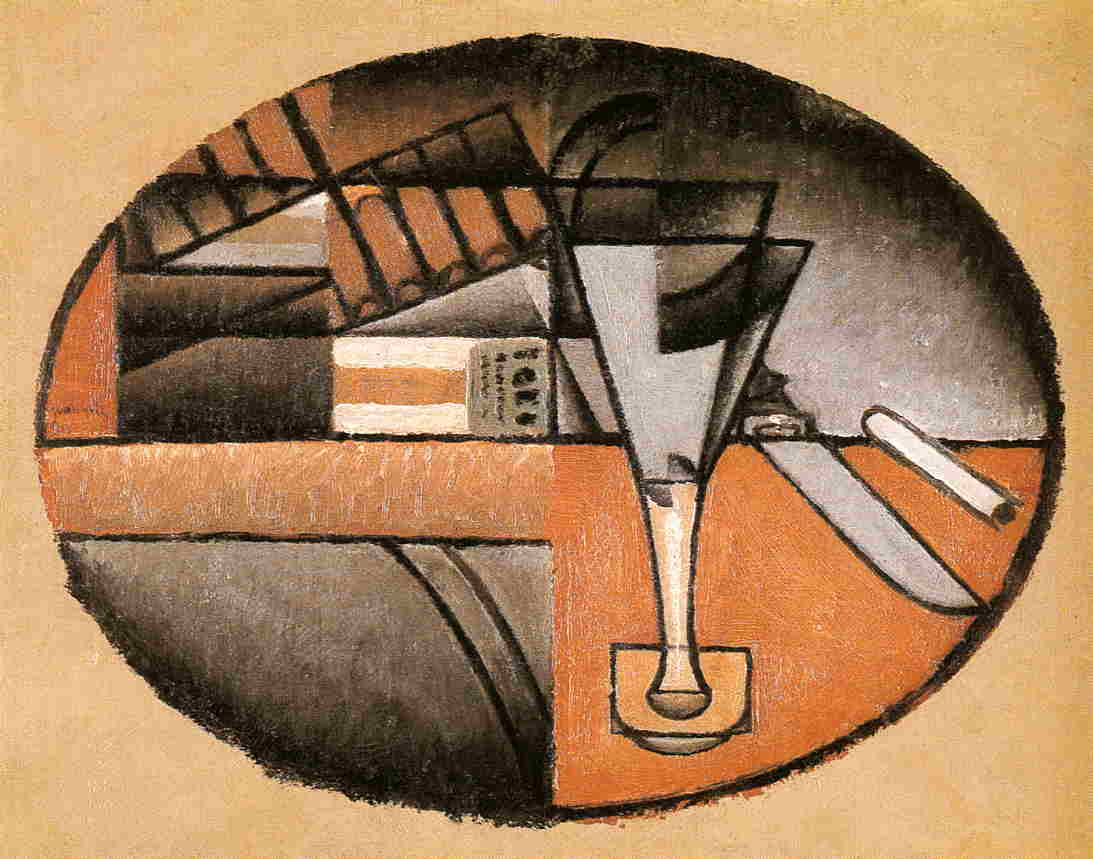 The Packet of Cigars 1912 | Juan Gris | Oil Painting
