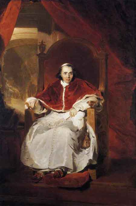 Pope Pius VII 1819 | Sir Thomas Lawrence | Oil Painting