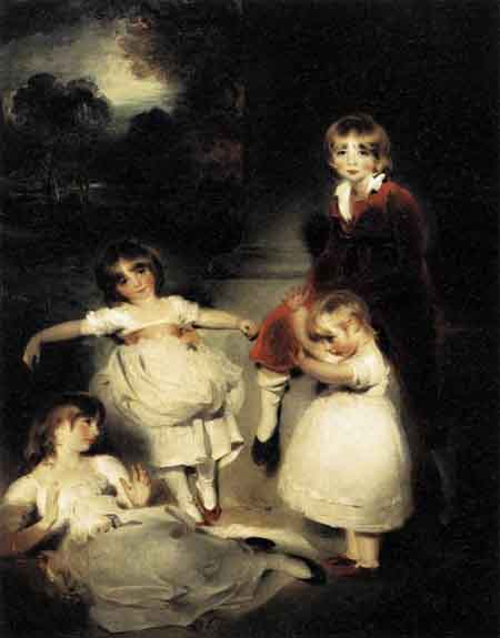 Portrait of the Children of John Angerstein 1808 | Sir Thomas Lawrence | Oil Painting