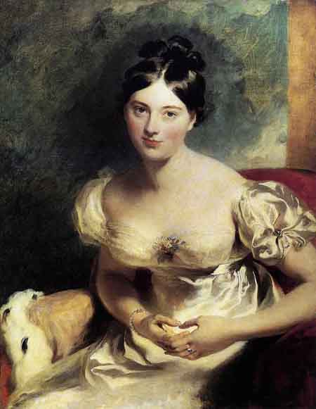Margaret Countess of Blessington 1822 | Sir Thomas Lawrence | Oil Painting