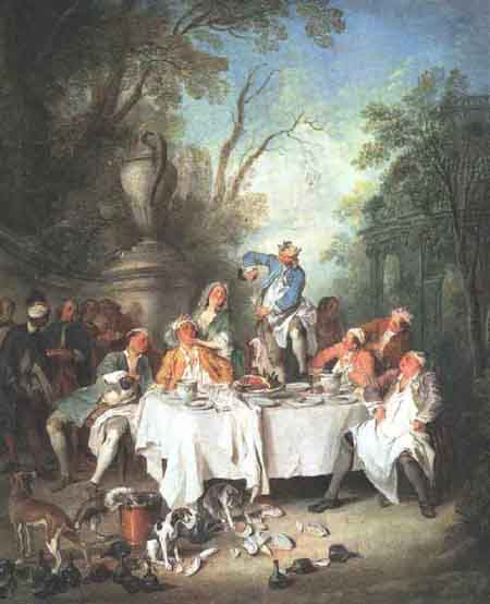 Luncheon Party 1735 | Nicolas Lancret | Oil Painting