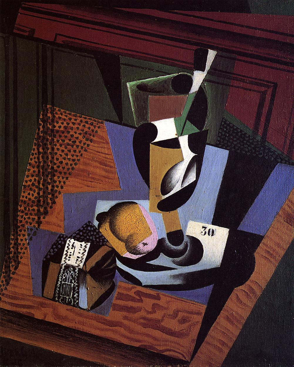 The Packet of Tobacco 1916 | Juan Gris | Oil Painting
