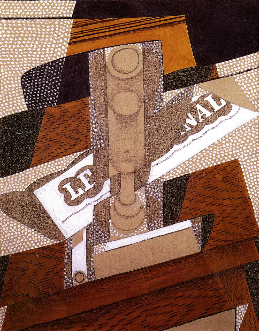 The Pipe 1916 | Juan Gris | Oil Painting