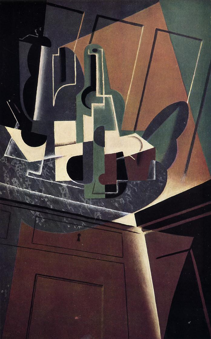 The Sideboard 1917 | Juan Gris | Oil Painting