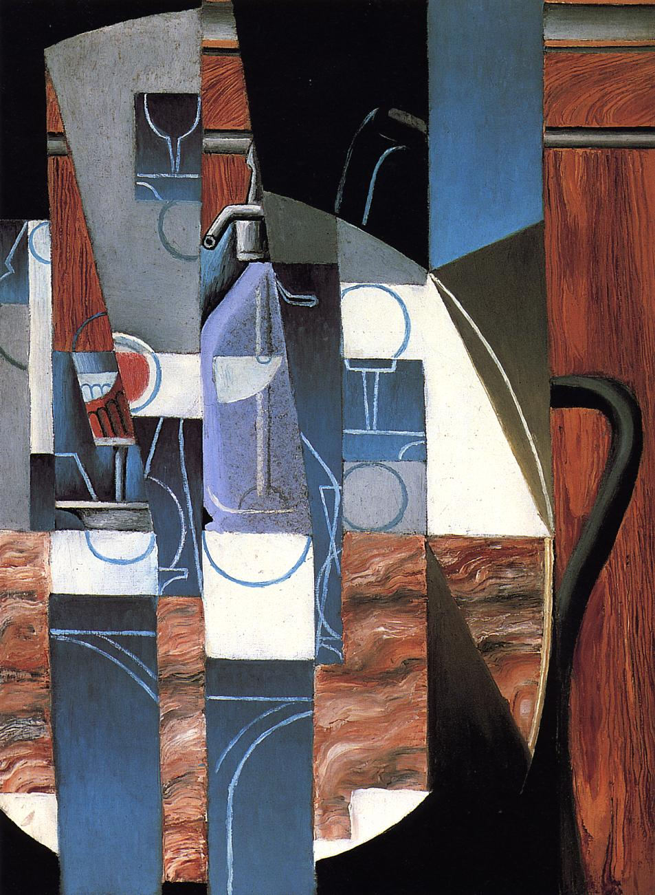 The Siphon 1913 | Juan Gris | Oil Painting