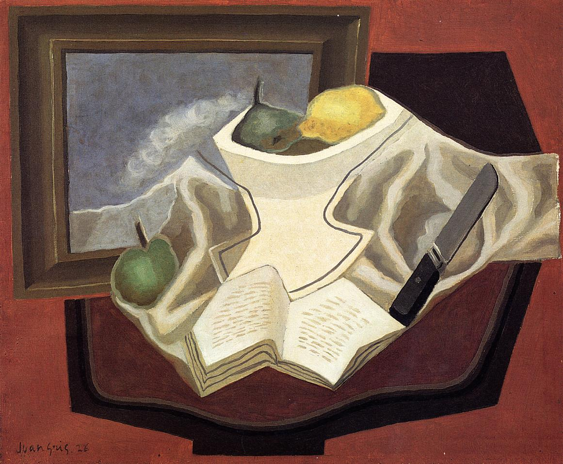 The Table in Front of the Picture 1926 | Juan Gris | Oil Painting