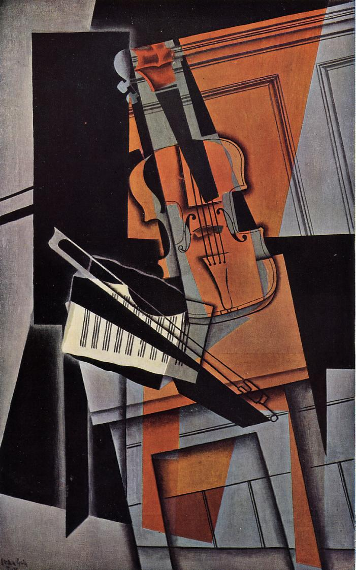 The Violin 1916 | Juan Gris | Oil Painting