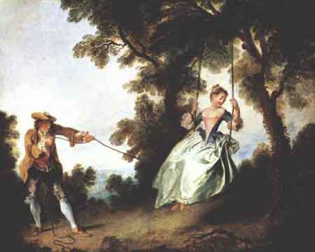 The Swing | Nicolas Lancret | Oil Painting