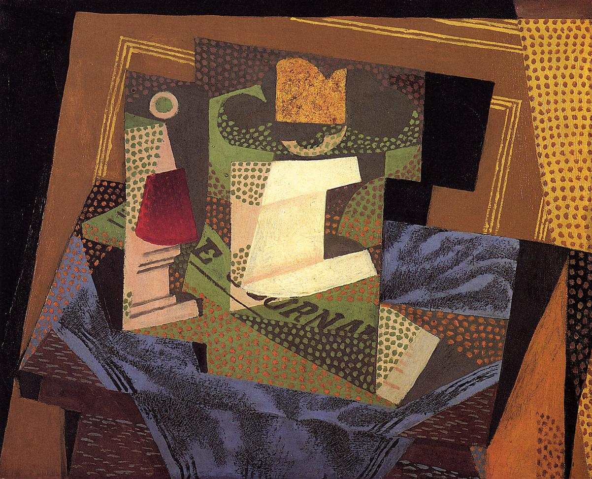 Unknown 1916 | Juan Gris | Oil Painting
