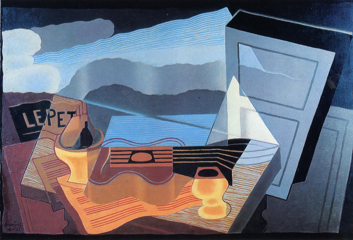 View across the Bay 1921 | Juan Gris | Oil Painting