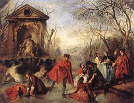 Winter 1738 | Nicolas Lancret | Oil Painting