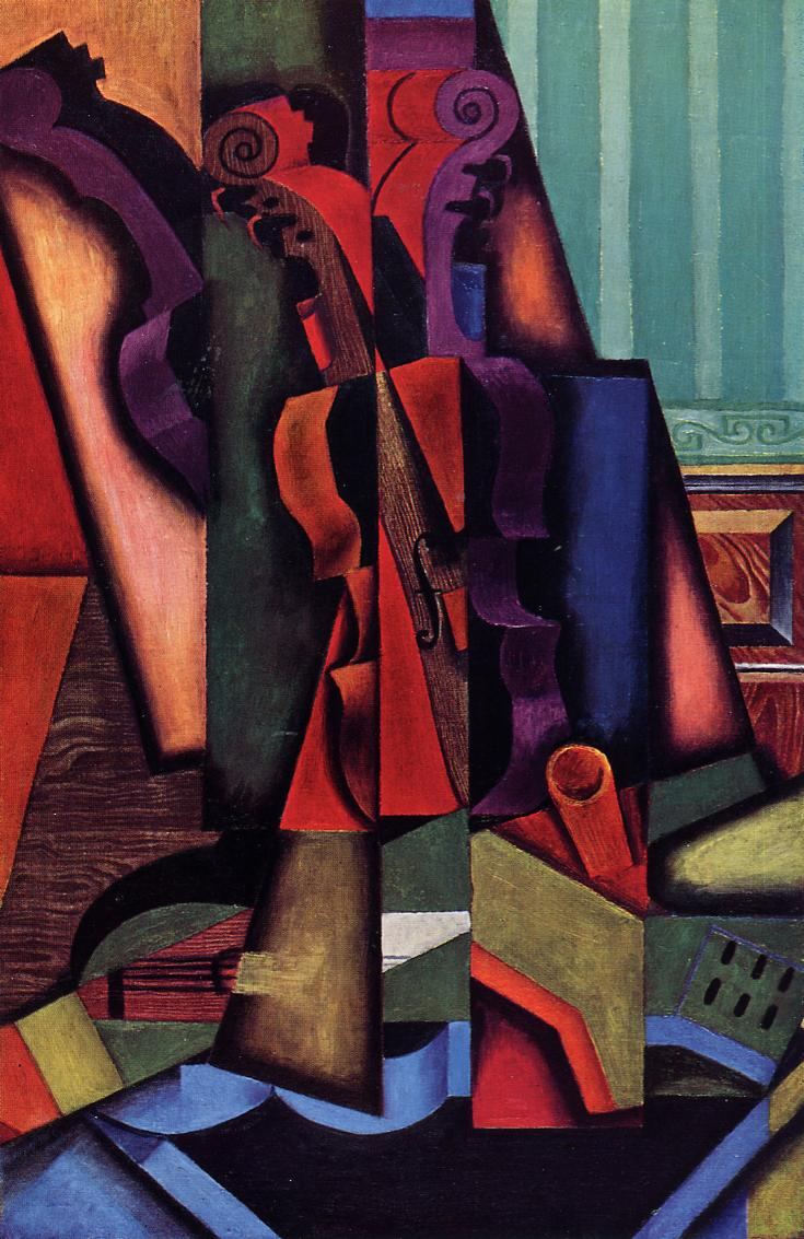 Violin and Guitar 1913 | Juan Gris | Oil Painting