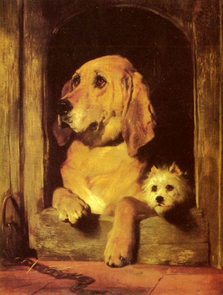 Dignity and Impudence 1839 | Sir Edwin Henry Landseer | Oil Painting