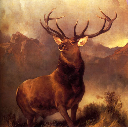 Monarch Of The Glen 1851 | Sir Edwin Henry Landseer | Oil Painting