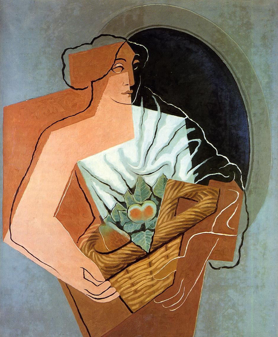 Woman With Basket 1927 | Juan Gris | Oil Painting