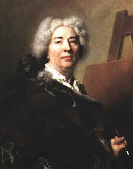 Self Portrait 1725 | Nicolas De Largilliere | Oil Painting