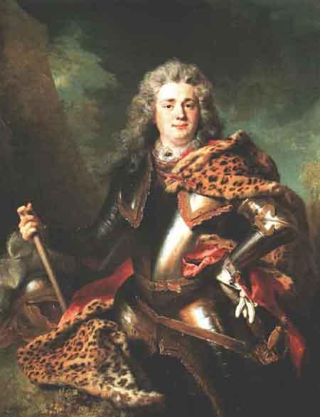 Francois de Gontaut Duc de Biron 1714 | Nicolas De Largilliere | Oil Painting