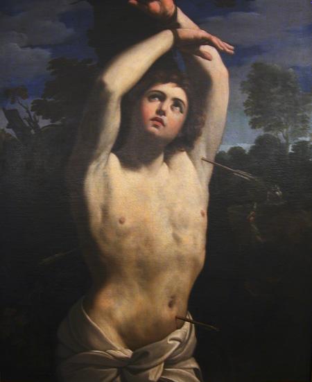 St Sebastian | Guercino | Oil Painting