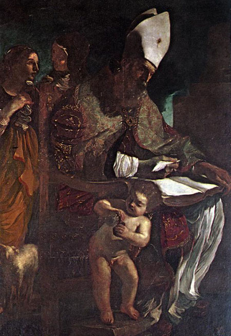 St Augustine | Guercino | Oil Painting