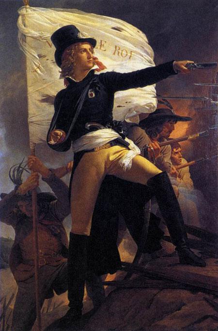 Henri de la Rochejaquelin 1817 | Pierre Narcisse Guerin | Oil Painting