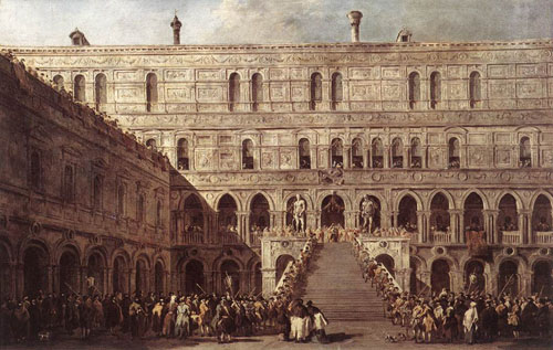 The Coronation of the Doge 1766 1770 | Francesco Guardi | Oil Painting