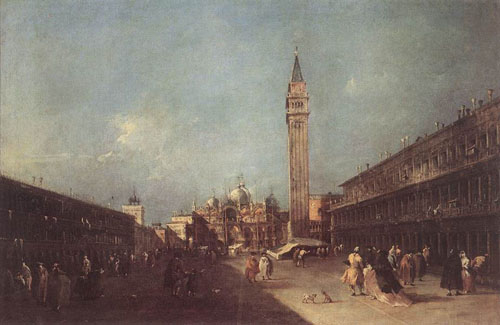 Piazza San Marco 1760 | Francesco Guardi | Oil Painting